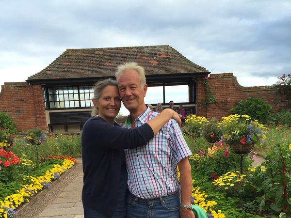Claire & Tony from Budleigh Salterton, United Kingdom