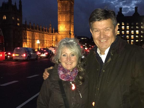Mark & Sue from Warwick, United Kingdom