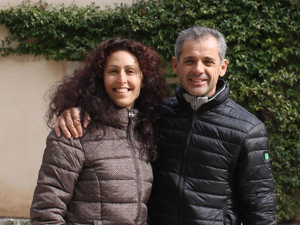 Katia & Norman from Pordenone, Italy