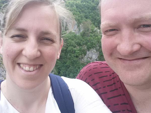 Emma & Steve from Todmorden, United Kingdom