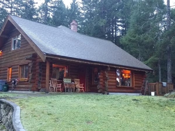 House/Dog Sitter For A Log House In The Woods