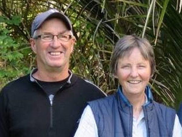 Alison & John from Wellington, New Zealand