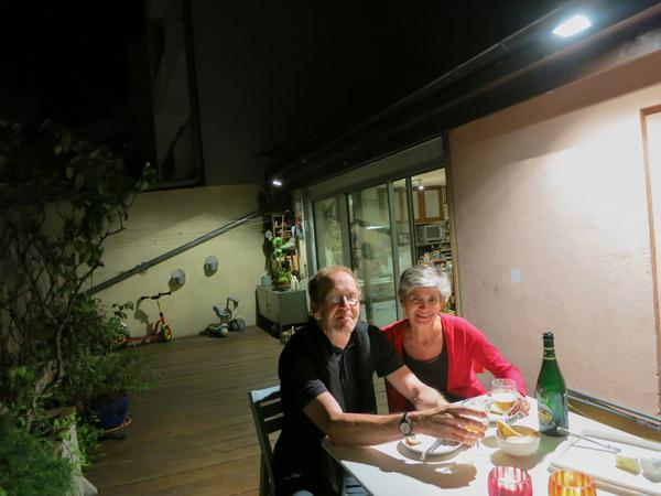 Peter & Joanne from Paris, France