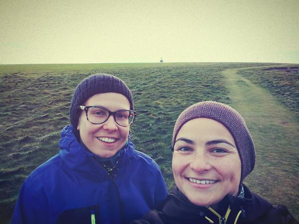 Charlaine & Melanie from Blarney, Ireland