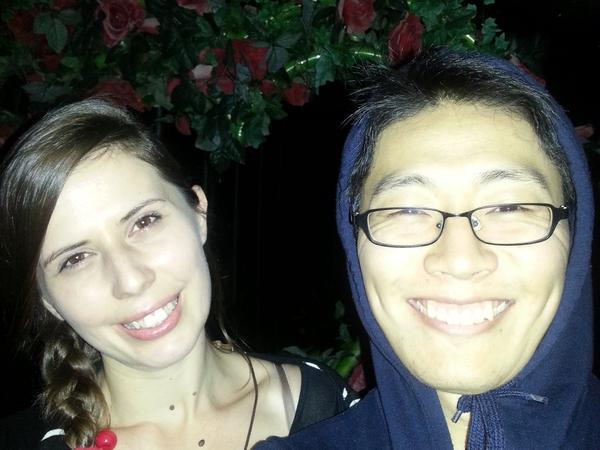 Roberta & Yongsik from Suncheon, South Korea