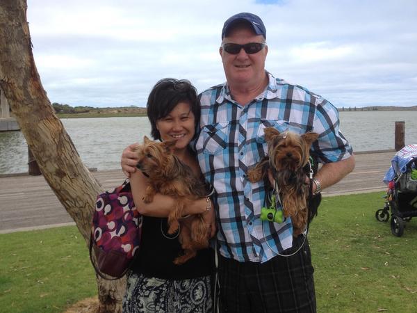 Kimberley & John from Dalyellup, WA, Australia