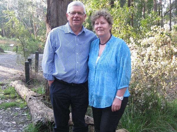 Julie & Joe from Daylesford, VIC, Australia