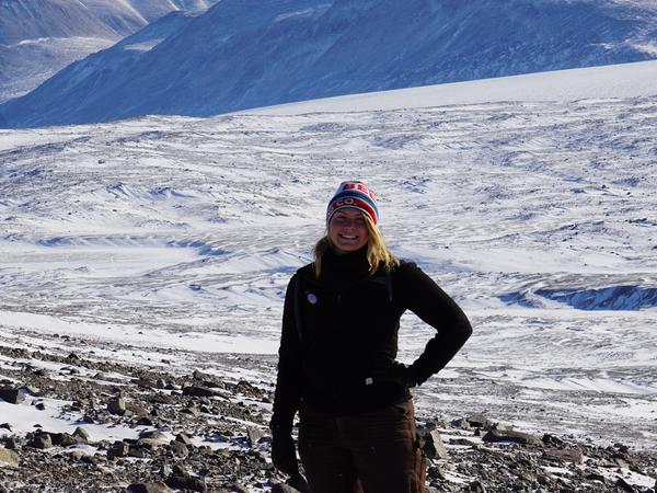 Tantiana from McMurdo Station, Antarctica