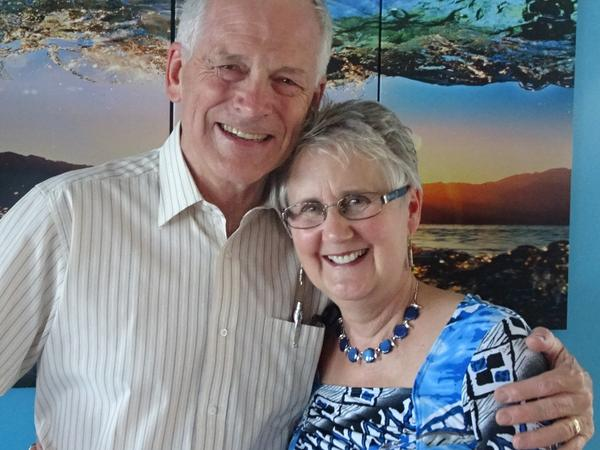 Peter and dianne & Dianne from Pender Island, British Columbia, Canada