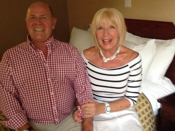 Pam & Chritopher from Barnstaple, United Kingdom