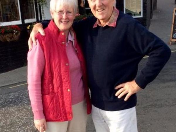 Veronica & John from Peebles, United Kingdom