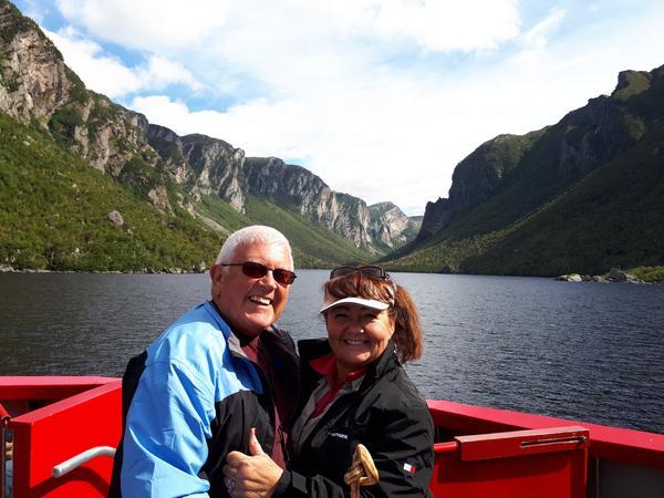Sandie & Brian from Bayfield, Ontario, Canada