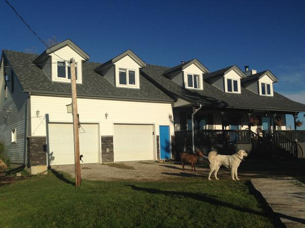Housesitting assignment in Stony Plain, Alberta, Canada