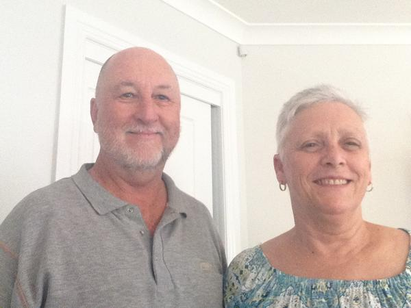 Russell & Lyn from Toowoomba, Queensland, Australia