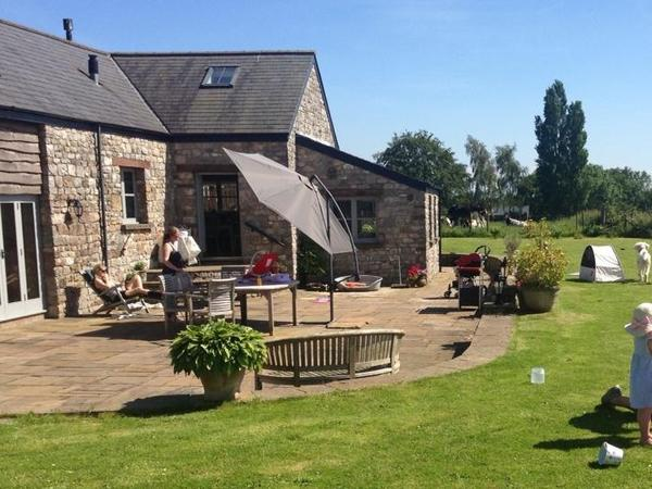 Converted barn in Monmouthshire