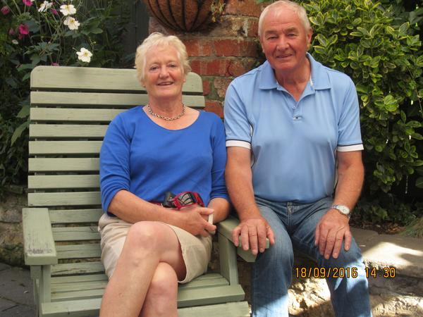 Olwen & Bill from Exeter, United Kingdom