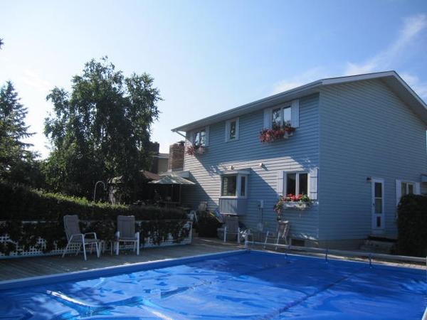 Seeking dog/home/pool sitter in Edmonton, AB for 2weeks late summer.