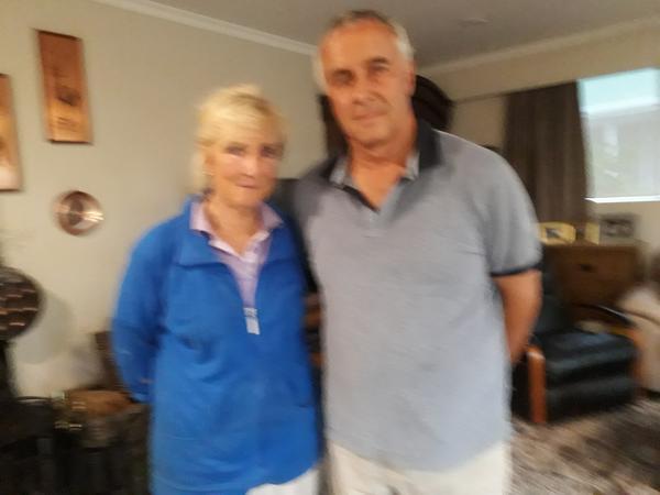 Lynnette & Ian from Timaru, New Zealand