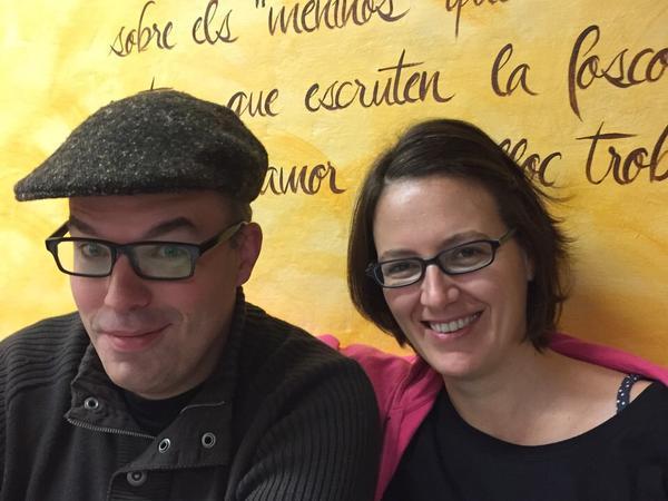 Elia & Miquel from Porrera, Spain