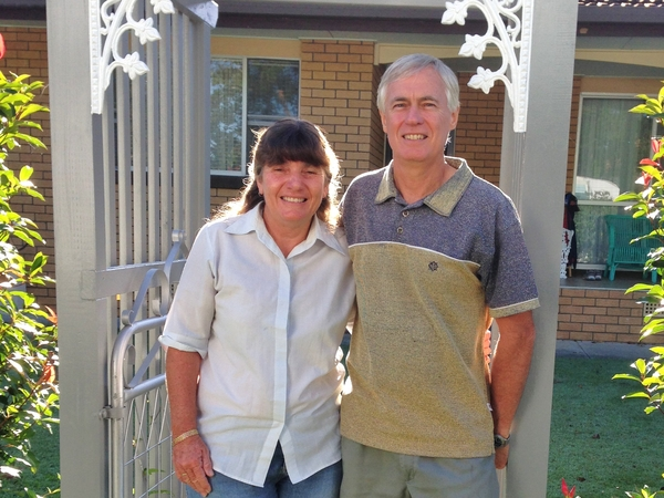 Graeme & Lynette from Sunbury, VIC, Australia