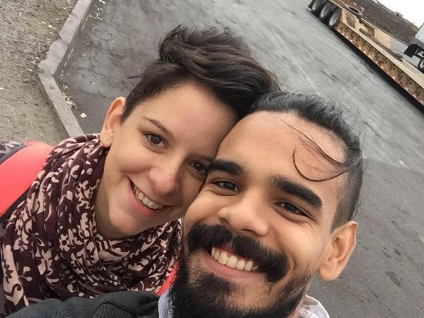 Aender & Nathasha from Mendoza, Argentina