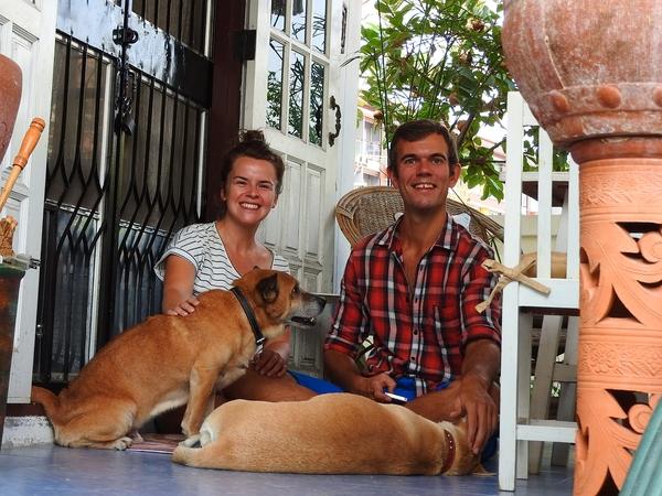 Ann & Manu from Antwerpen, Belgium
