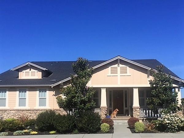Wine country home in Petaluma north of San Francisco