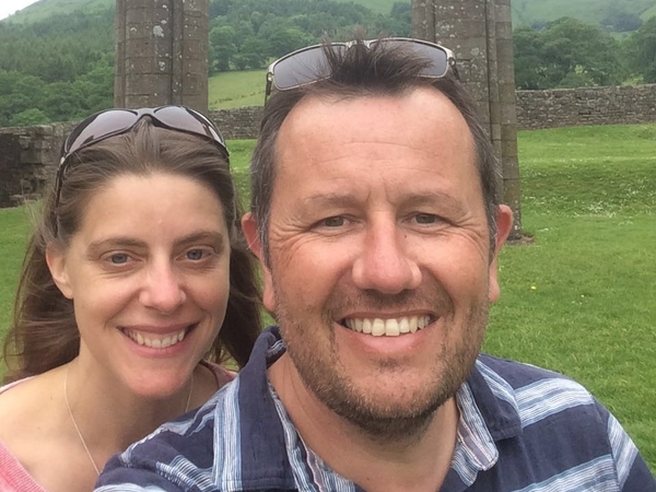 Veryan & Nigel from Stockbridge, United Kingdom