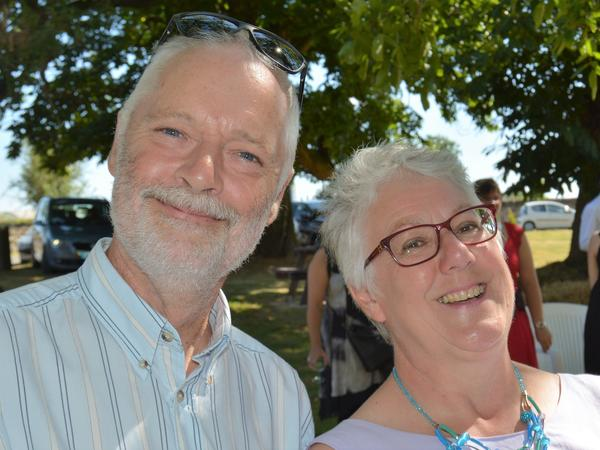Sylvia & Stephen from Parthenay, France