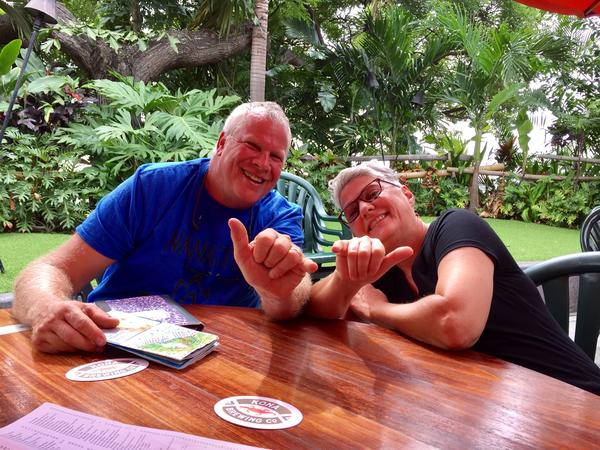 Pete & Pam from Captain Cook, HI, United States