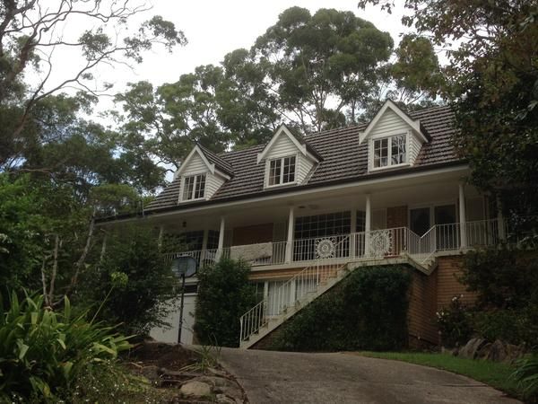 Housesitting assignment in Pennant Hills, New South Wales, Australia