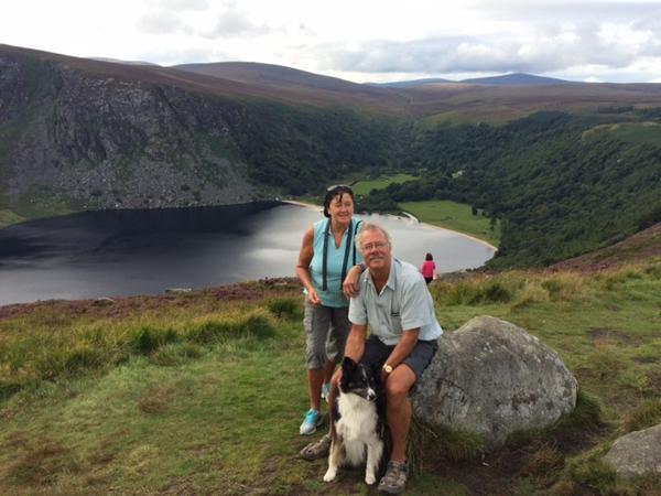 Marion & Andrew from Bray, Ireland
