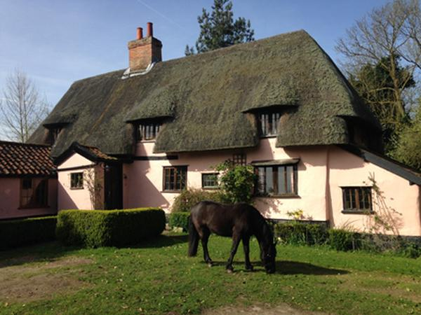 Our 1450 medieval house sits next to a nature reserve down a quiet country lane on the Norfolk/Suffolk border...
