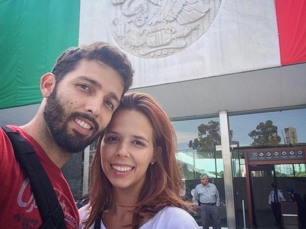 Tammiris & Rafael from São Paulo, Brazil