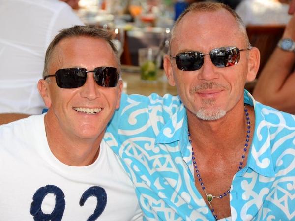 Daren & Andrew from Ibiza, Spain