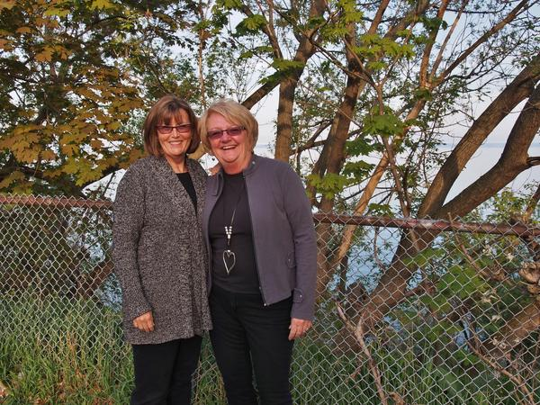 Carol & Cheryl from Barrie, ON, Canada