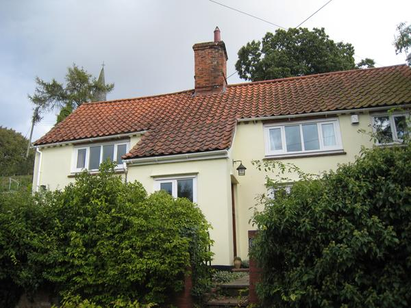 Country cottage near Halesworth, Suffolk,  with two dogs and one cat