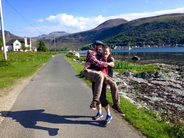 Magdalena & Andrew from Linlithgow, United Kingdom
