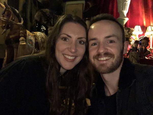 Christina & Gary from Livingston, United Kingdom