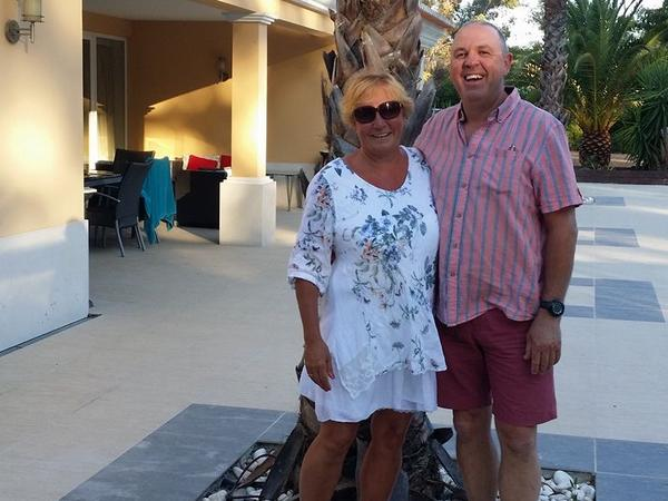 Pauline & Neil from Bergerac, France