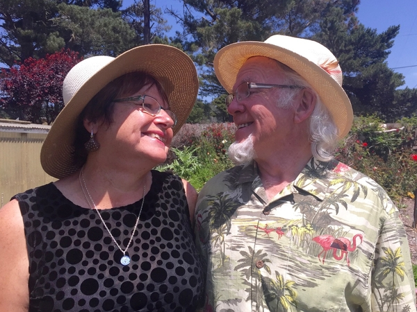 Holly & Malcolm from Fort Bragg, CA, United States