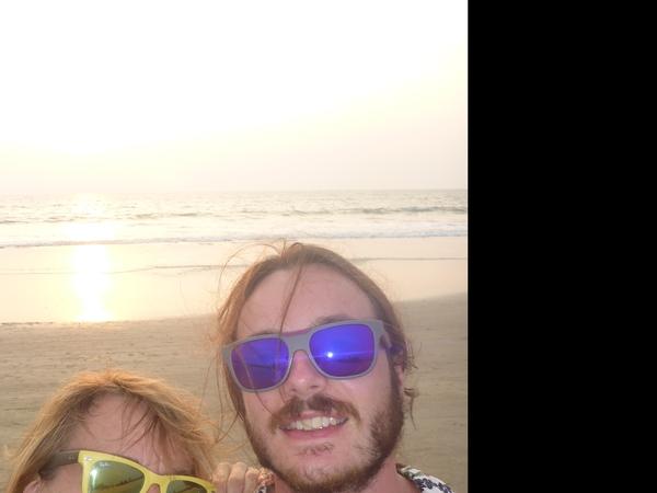 Rachel and daniel & Daniel from Benaulim, India