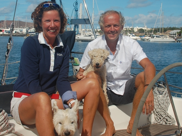 Jacqueline & David from English Harbour Town, Antigua and Barbuda