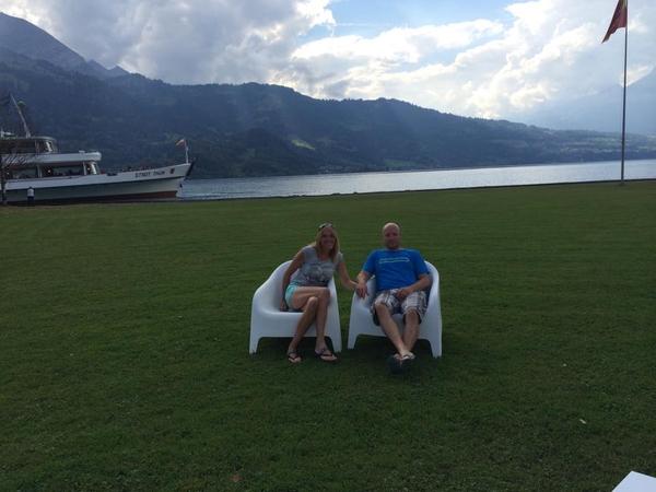 Stuart & Karen from Dol-de-Bretagne, France
