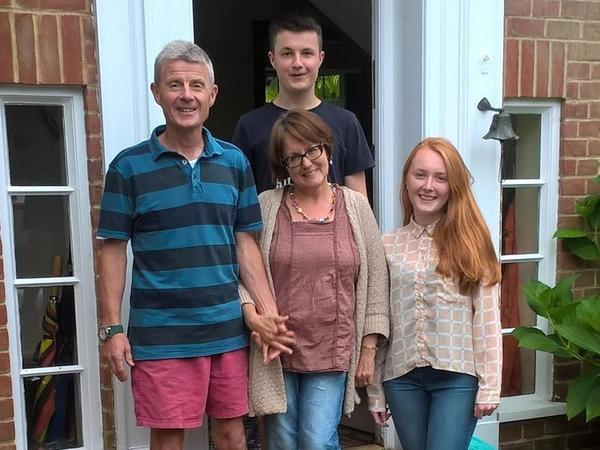 David & Jayne from Oxford, United Kingdom
