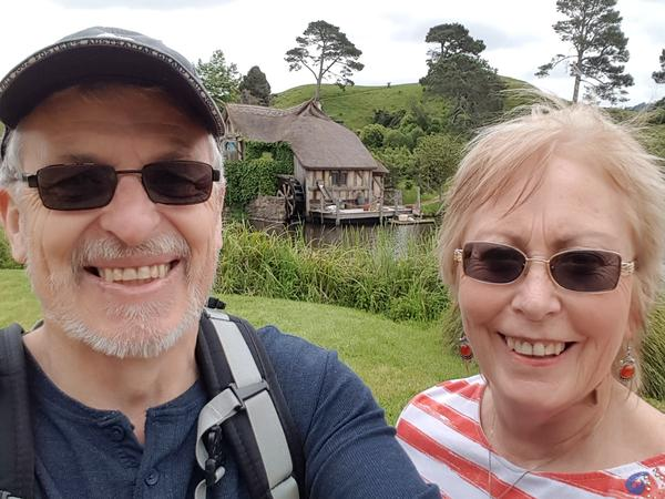 Pam & Gordon from New Plymouth, New Zealand