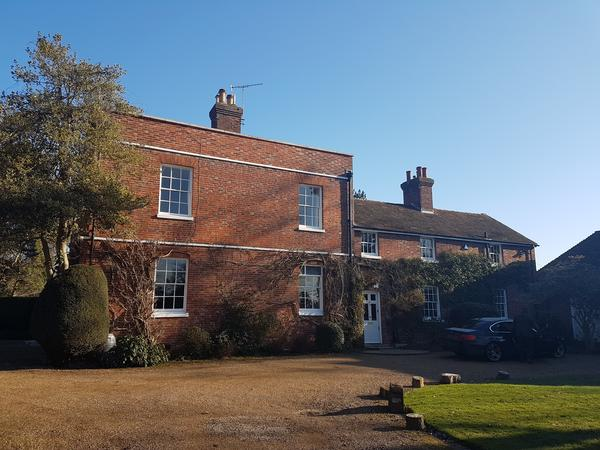 Enjoy Christmas house and dog sitting in listed Georgian house with beautiful gardens, Hadlow, Kent