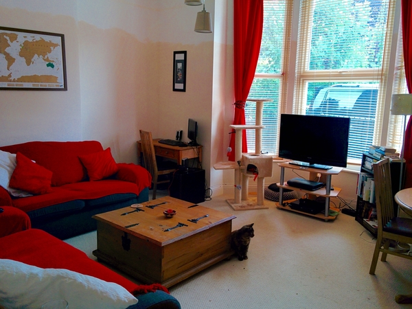Lovely 2-bedroom flat & cat near Crystal Palace, London