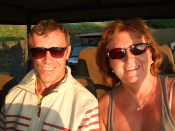 Amanda & Andrew from Grantham, United Kingdom
