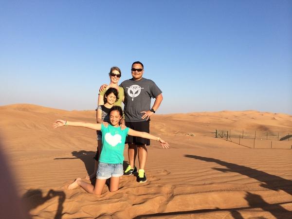 Jake & Sarah from Dubai, United Arab Emirates